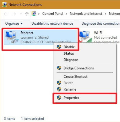 Fix Ethernet Doesn't Have A Valid IP Configuration