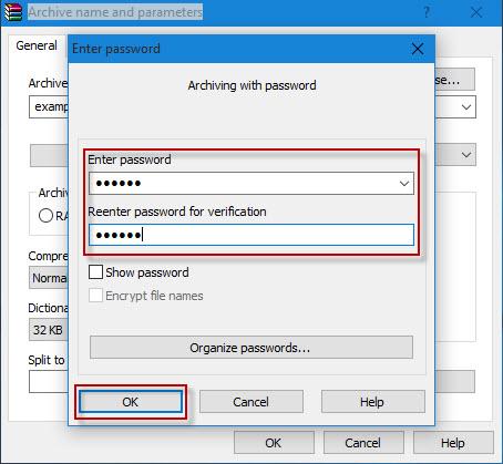 password protect USB drive