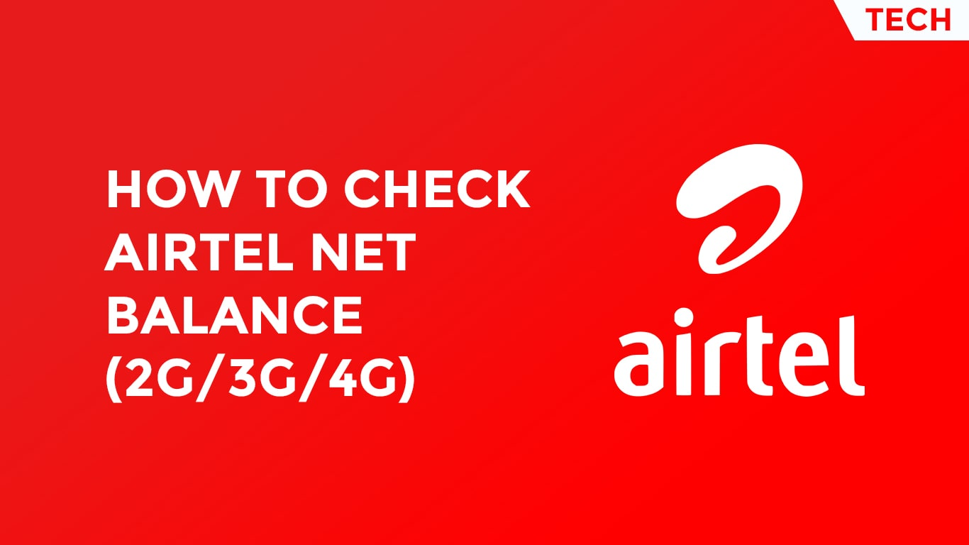 Check Airtel Net Balance