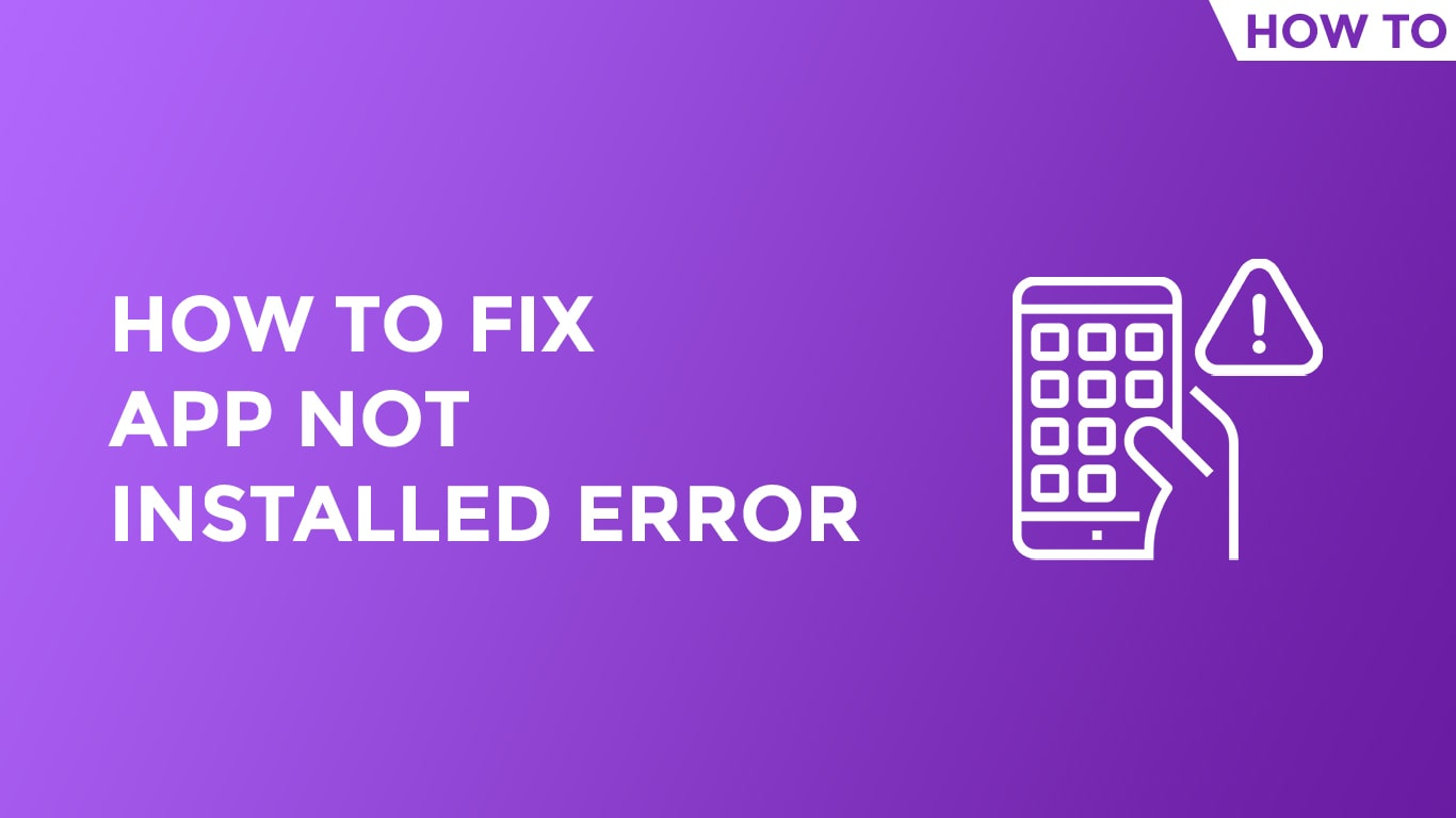 app not installed error