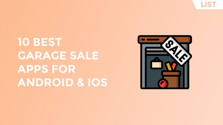 Best Garage Sale Apps