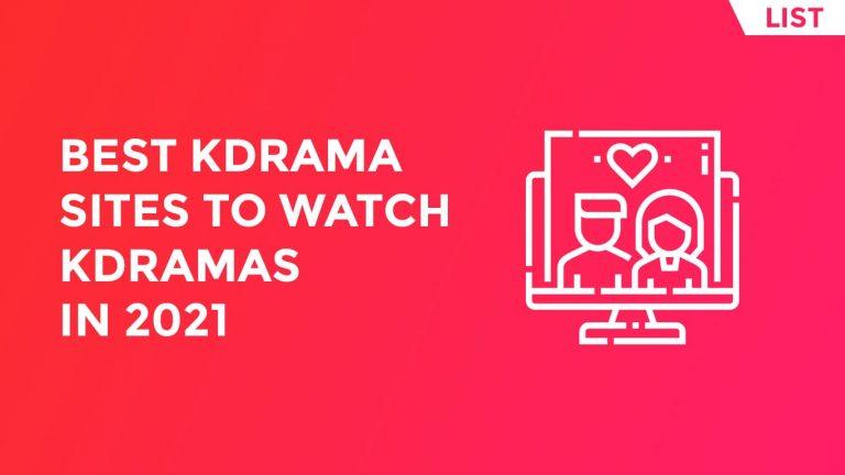 Best KDrama Sites