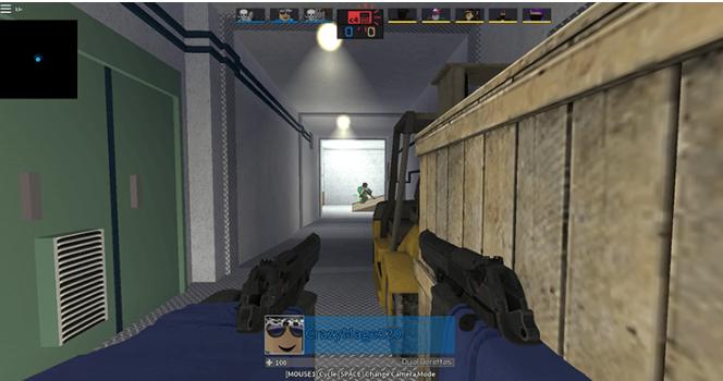 roblox shooting games