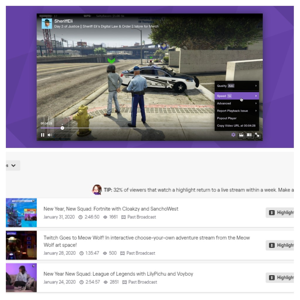 Check Twitch Chat Logs