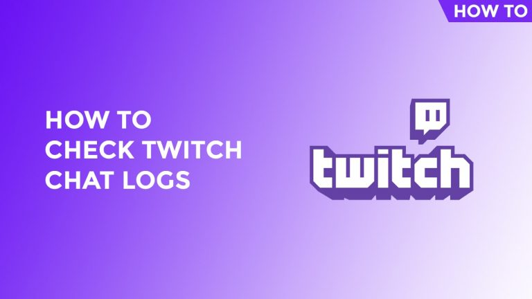 How To Check Twitch Chat Logs-min