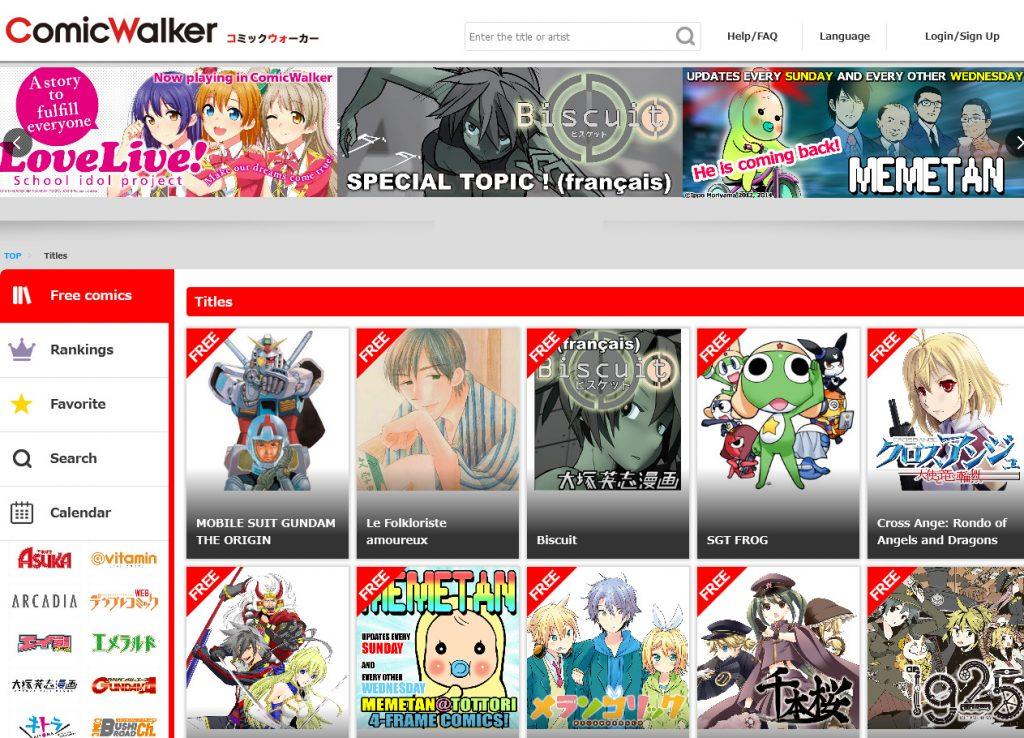 manga websites