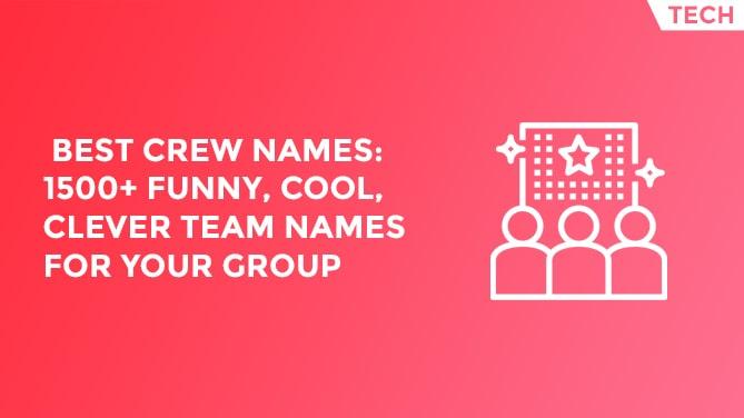 crew names