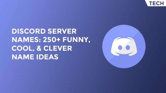 discord server names