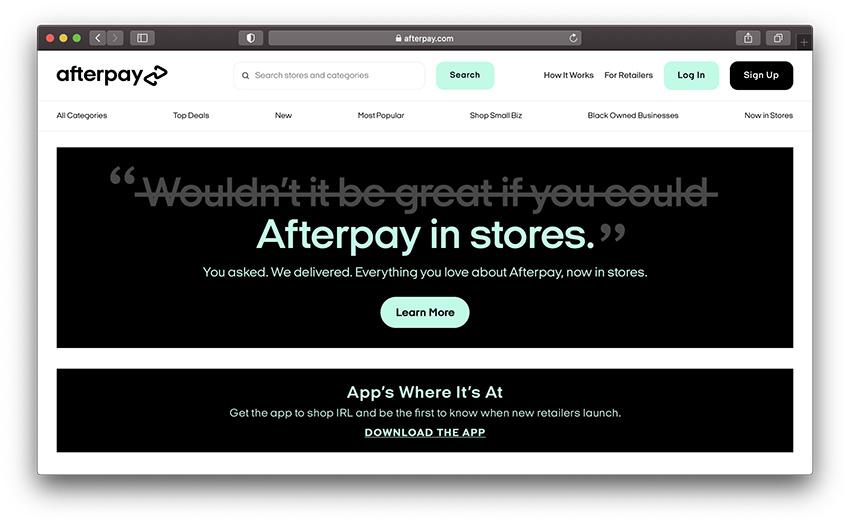 sites like affirm