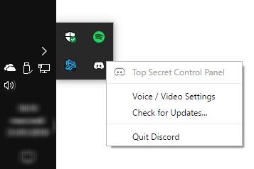discord top secret control panel