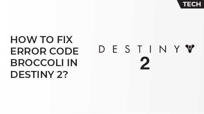 How To FIx Error Code Broccoli In Destiny 2-min