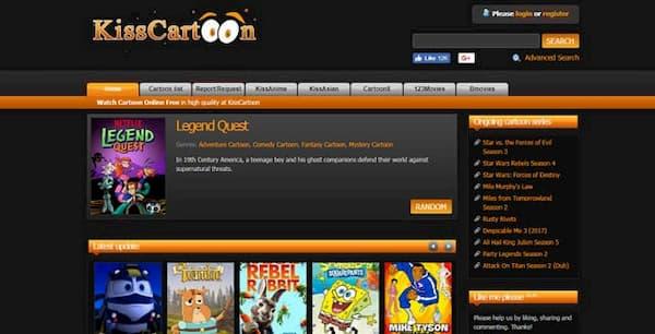 HD Cartoon Streaming Sites