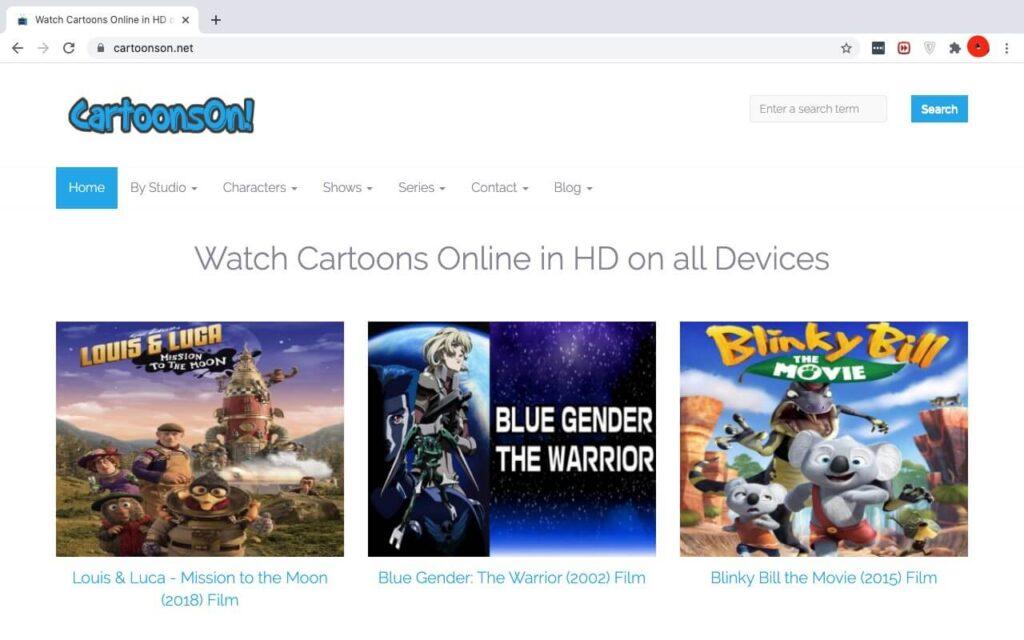 Best HD Cartoon Streaming Sites
